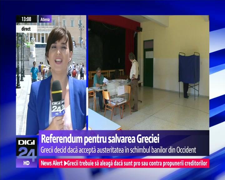 """Româncă stabilită în Grecia, mesaj emoționant în ziua votului: """"Eu în jurul meu văd solidaritate şi umanitate"""""""