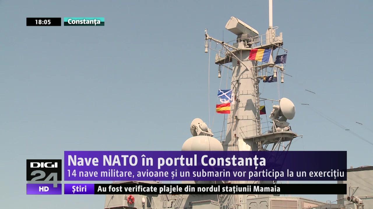 VIDEO   Navă portugheză, însoţită de ruşi, în Marea Neagră.Fregata se îndrepta spre Portul Constanţa unde participă la un exerciţiu
