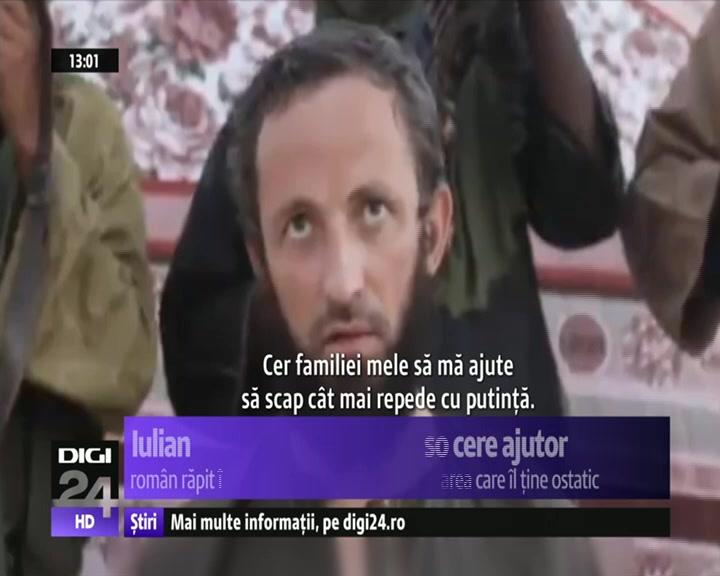 Românul răpit în Burkina Faso cere ajutorul guvernului