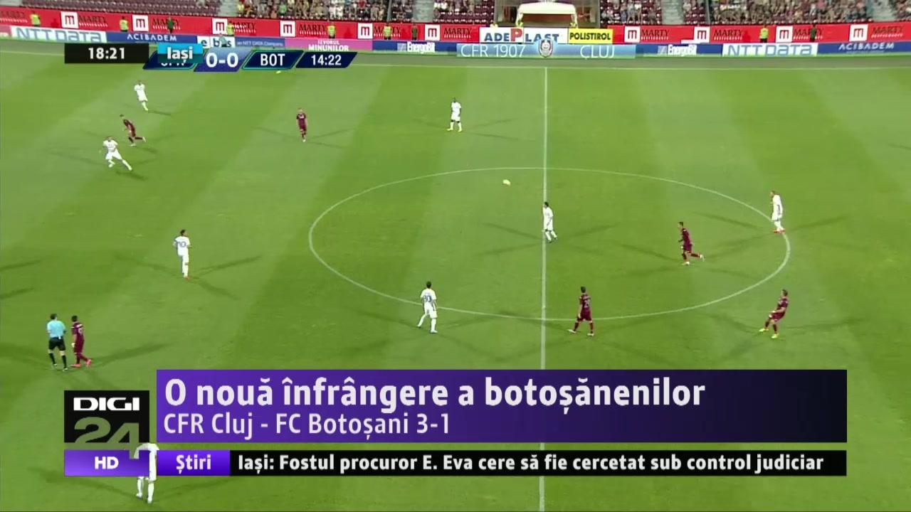 VIDEO | SPORT. FC Botoşani, la a treia înfrângere consecutivă